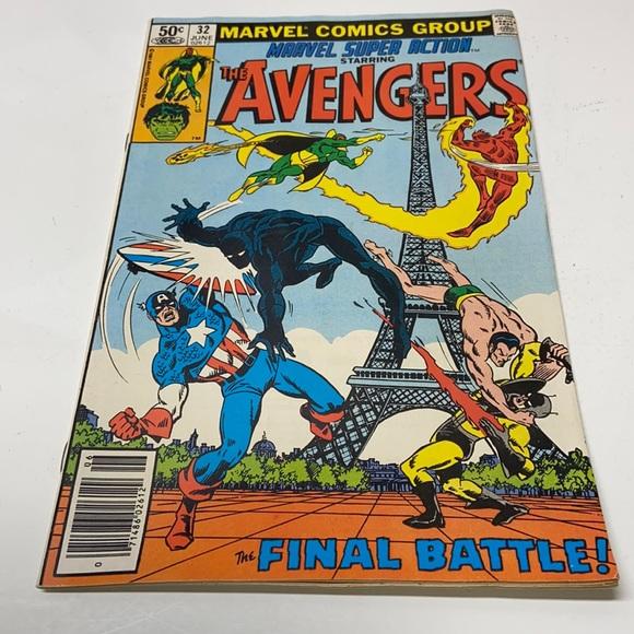 Avengers #32 Marvel comics Vintage